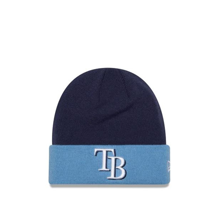 Men's Tampa Bay Rays New Era Team Logo Knit
