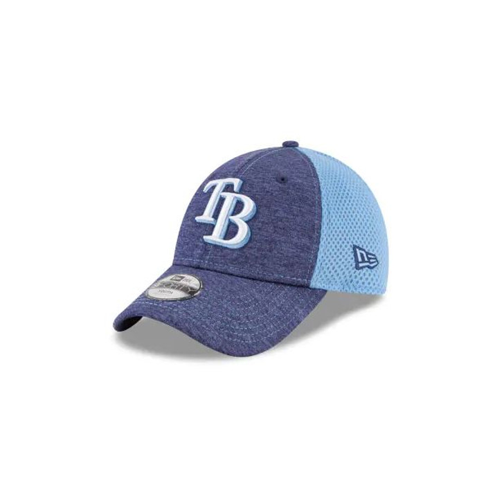 Youth Tampa Bay Rays New Era 9FORTY Jr Shadow Turn 2 Adjustable Hat