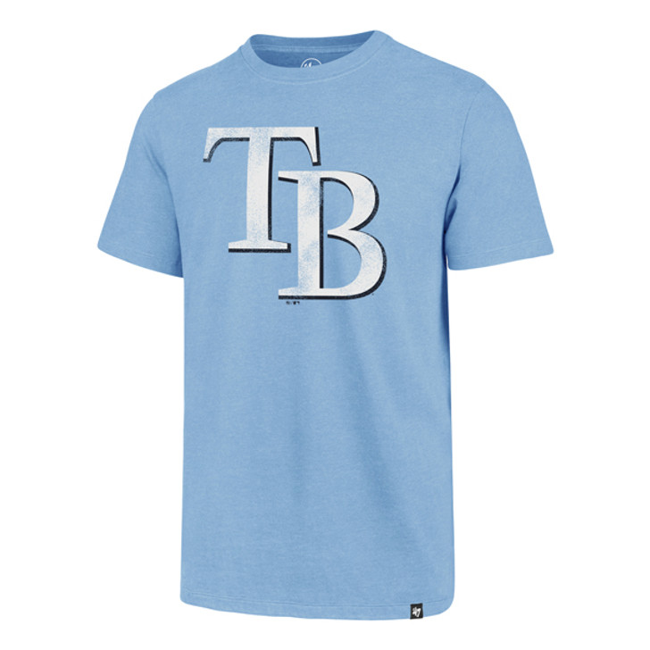 Men's Tampa Bay Rays '47 Carolina TB Logo Club Tee