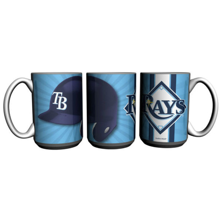 Tampa Bay Rays 15oz Burst Mug
