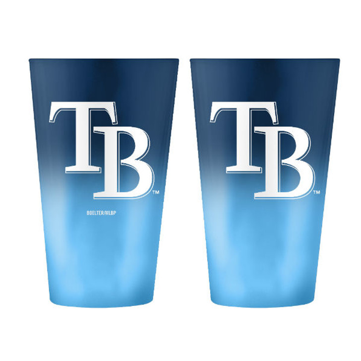 Tampa Bay Rays 16oz Ombre Pint Glass