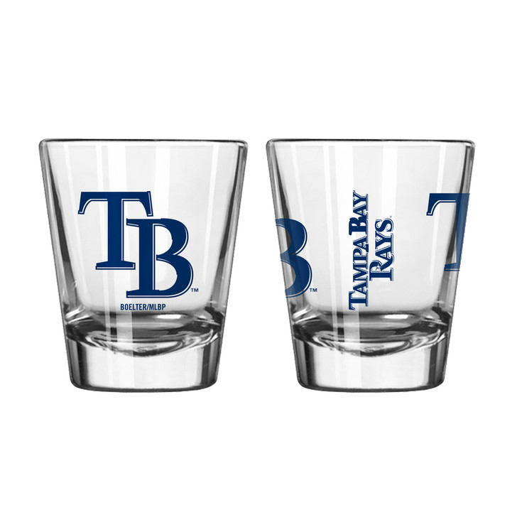 Tampa Bay Rays 2oz Game Day Shot Glass