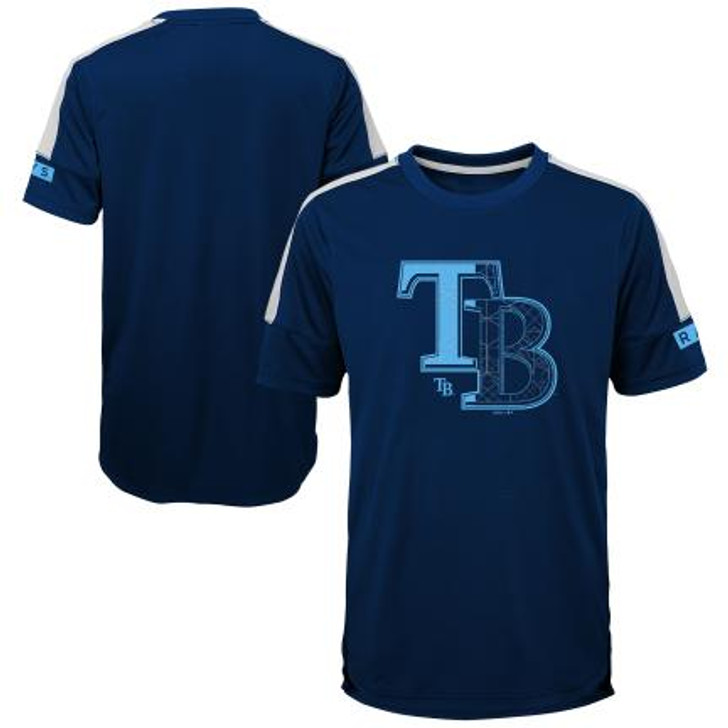 Youth Tampa Bay Rays Power Hit Tee