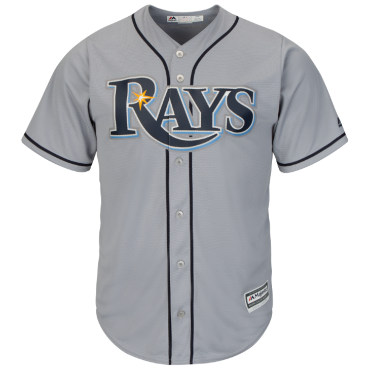 the best attitude b80ba 8794a Men's Tampa Bay Rays Majestic Road Cool Base Jersey