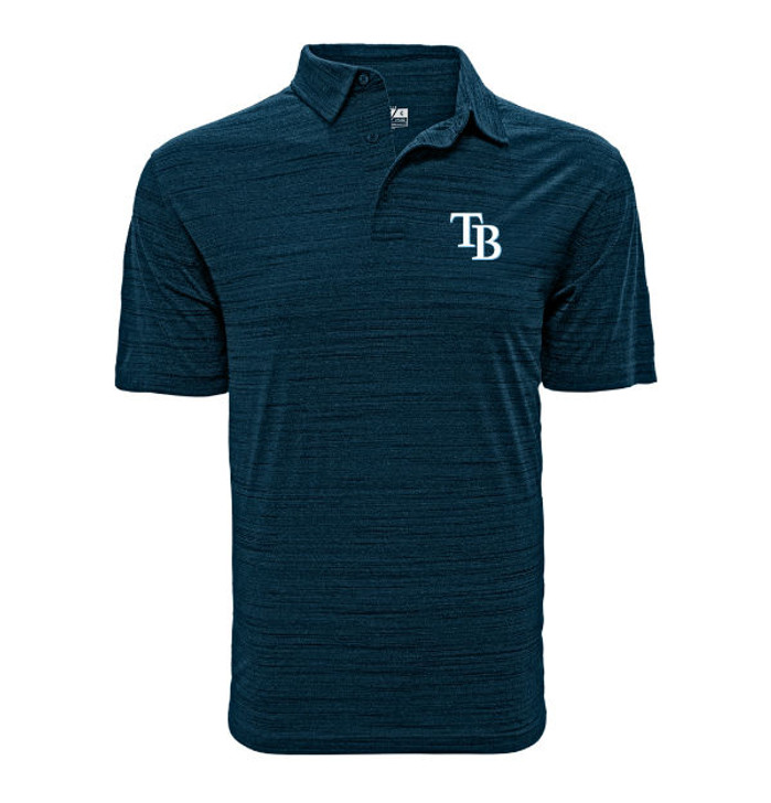 Men's Tampa Bay Rays Navy Sway Polo