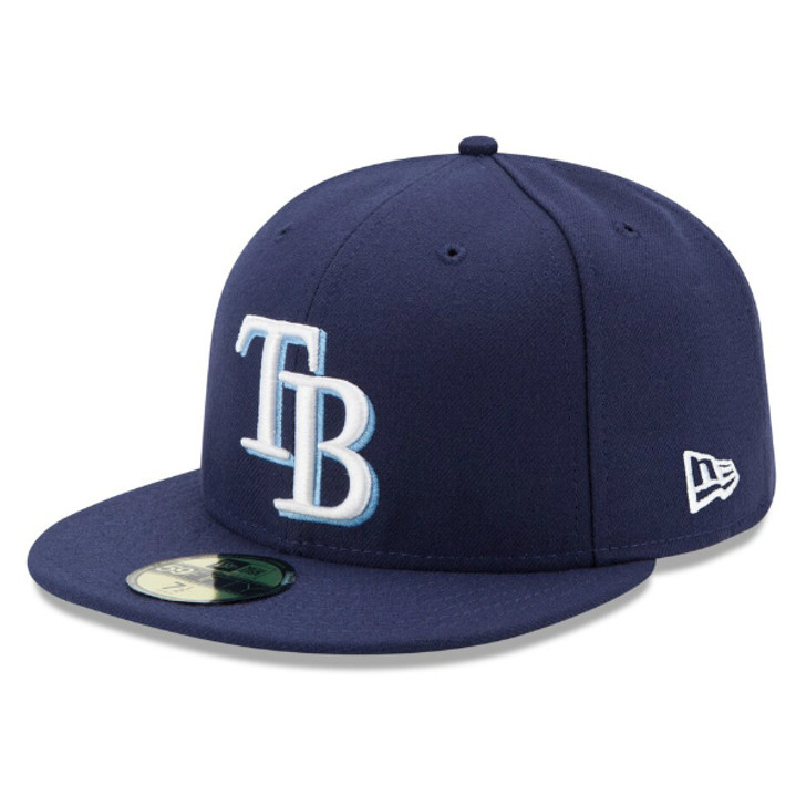Men's Tampa Bay Rays New Era Game Authentic Collection On-Field 59Fifty Hat