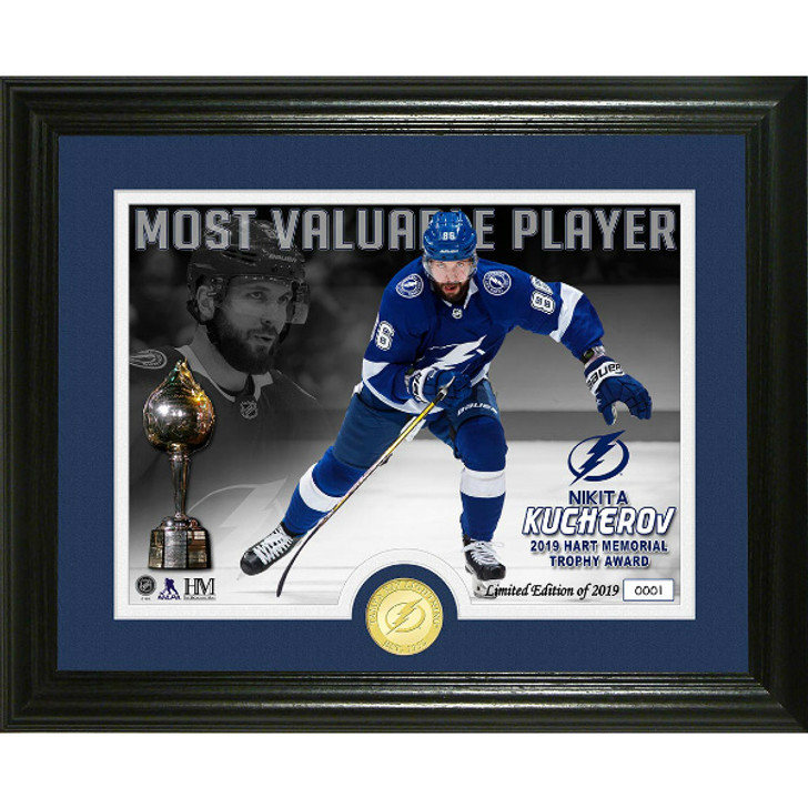 Nikita Kucherov 2019 Hart Trophy (MVP) Limited Edition Photo Frame with Coin