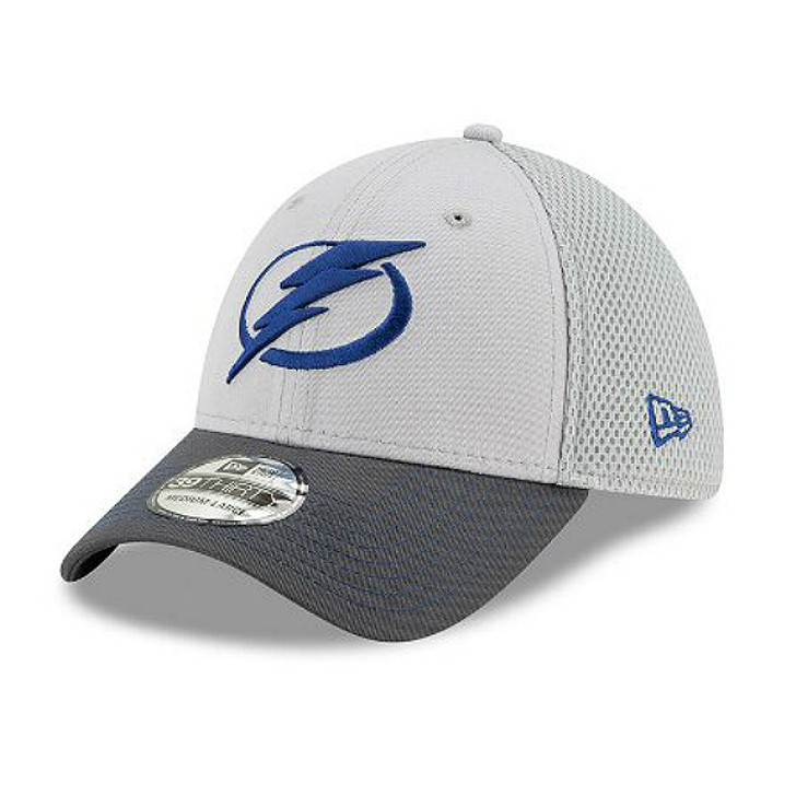Men's Tampa Bay Lightning New Era Neo Grey Flex Fit Hat