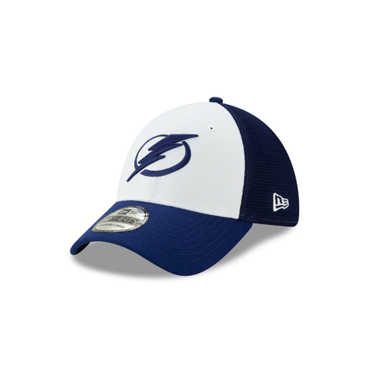 Men's Tampa Bay Lightning New Era 2-Tone Sided Flex Fitted Hat
