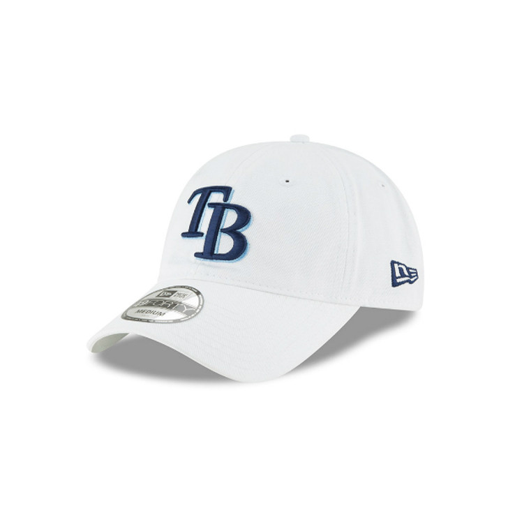 Tampa Bay Rays New Era 49Forty Fitted White Core Hat