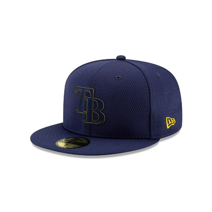 Tampa Bay Rays New Era 59Fifty Fitted Clubhouse Hat