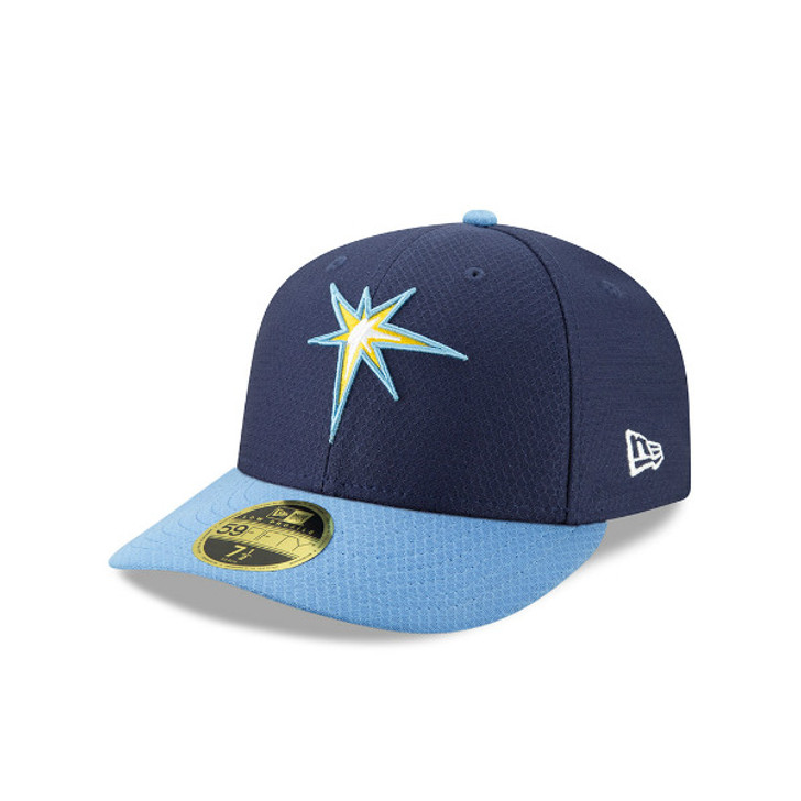 Tampa Bay Rays New Era 59Fifty Fitted Alternate Logo Hat