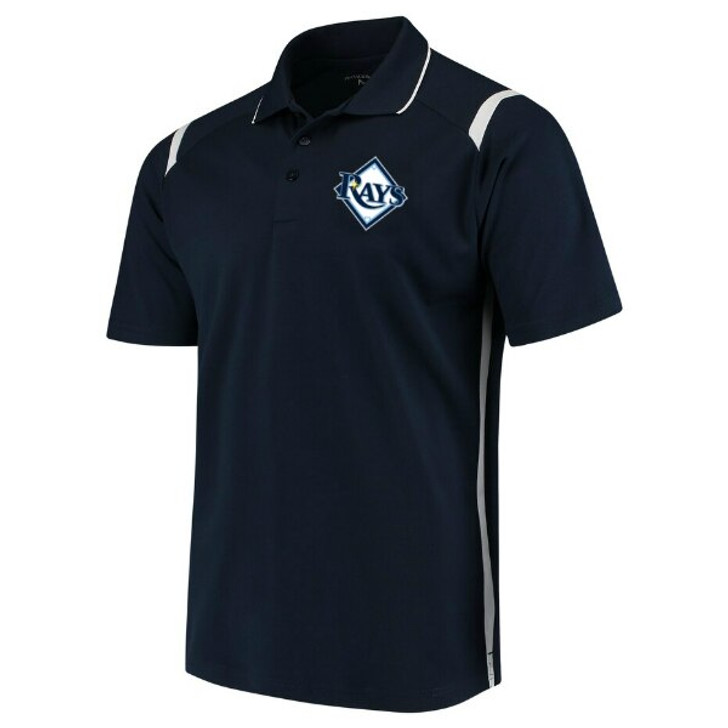 Men's Tampa Bay Rays  Navy Merit Polo
