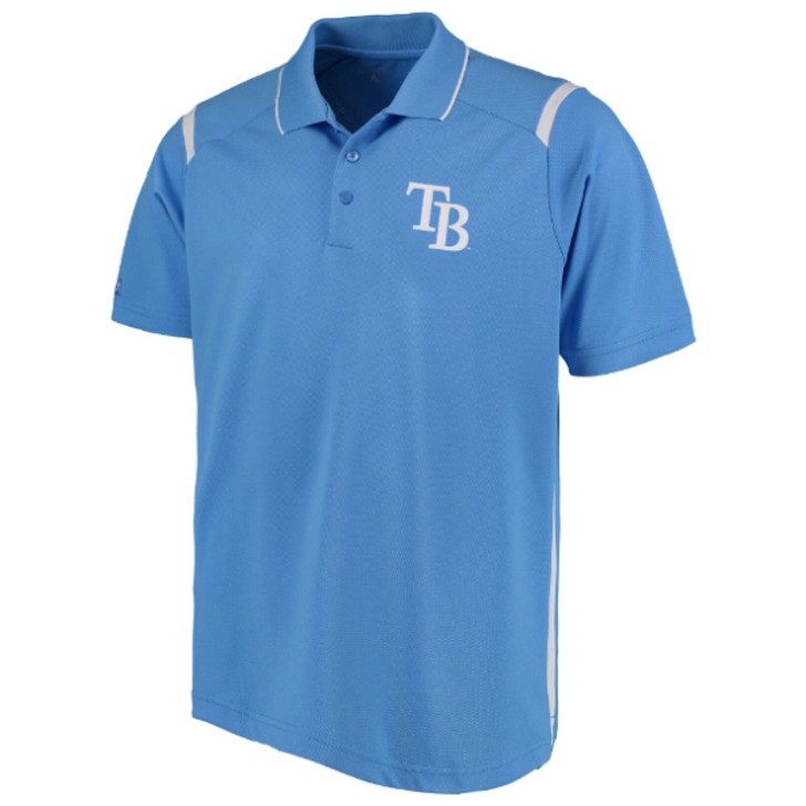 Men's Tampa Bay Rays  Columbia Merit Polo
