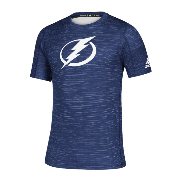 Men's Tampa Bay Lightning adidas Game Mode Blue Training Tee
