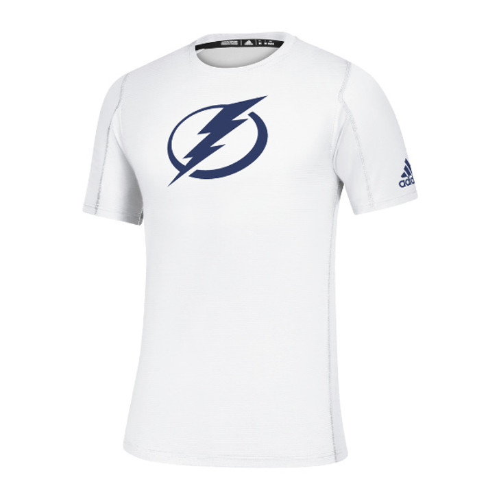 Men's Tampa Bay Lightning adidas Game Mode White Training Tee