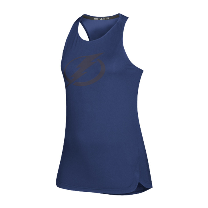 Women's Tampa Bay Lightning adidas Blue Game Mode Tank