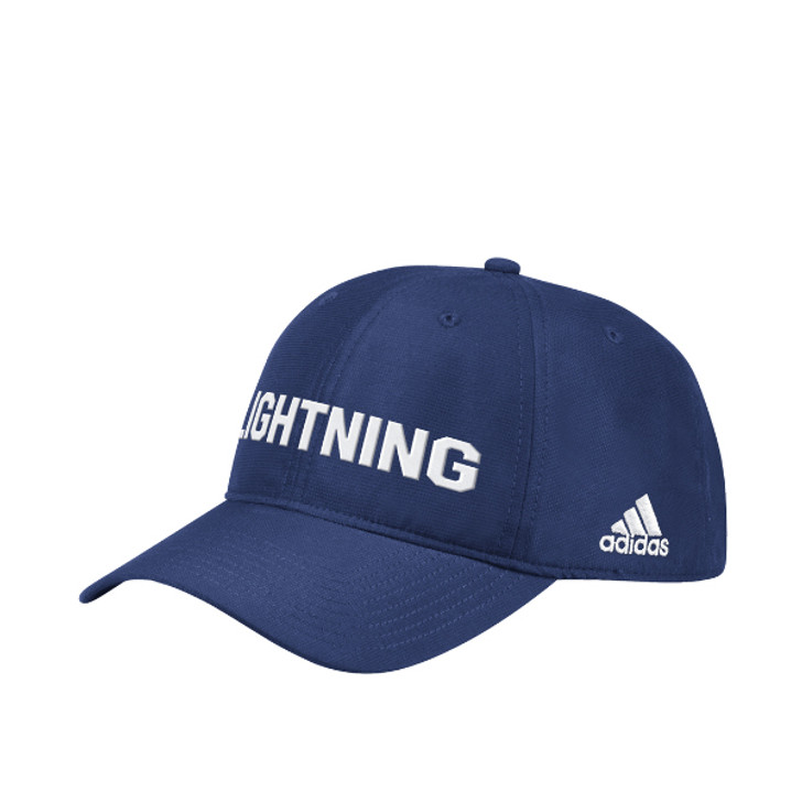 Men's Tampa Bay Lightning adidas City First Blue Adjustable Slouch Hat