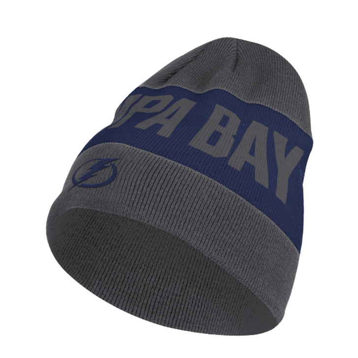 Men's Tampa Bay Lightning adidas City Above Grey Knit