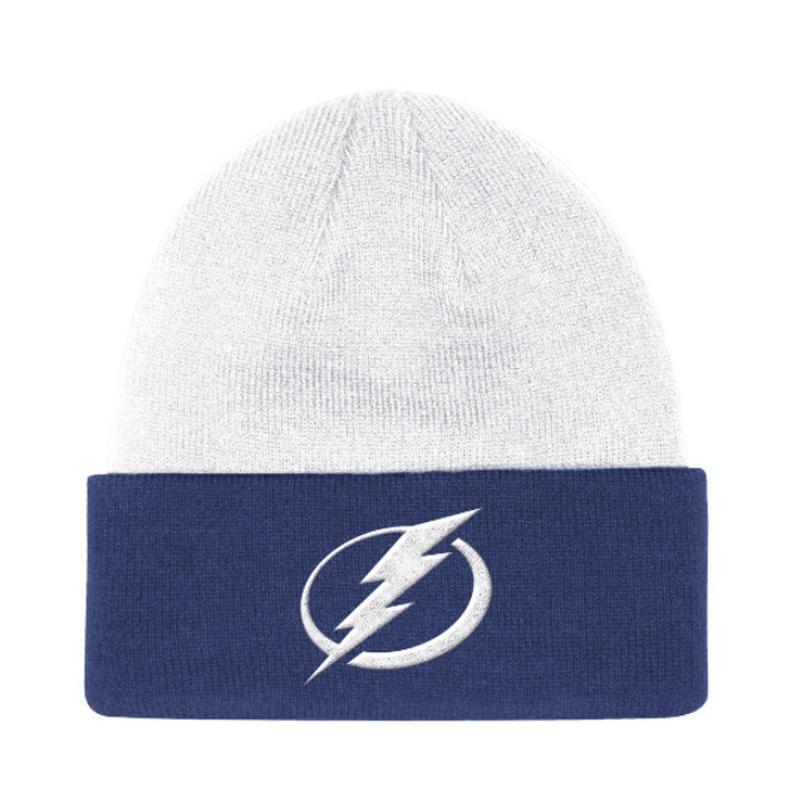 Men's Tampa Bay Lightning adidas Sport Front & Back Cuffed Knit