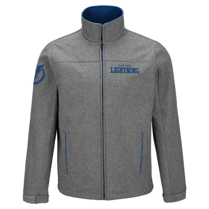 Men's Tampa Bay Lightning Completion Full Zip Soft Shell Jacket