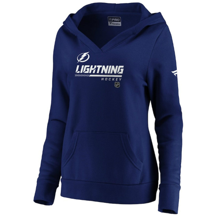 Women's Tampa Bay Lightning Authentic Pro Prime Hoodie