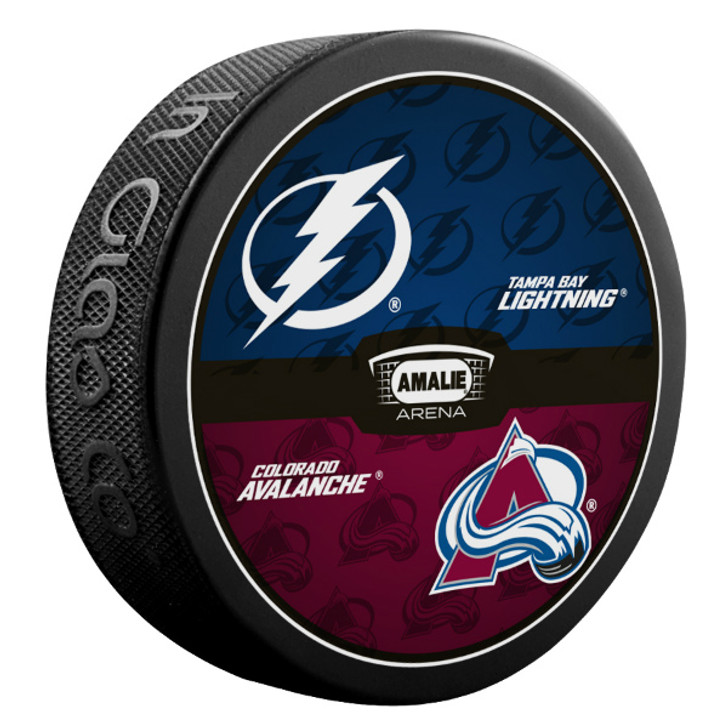 Tampa Bay Lightning vs. Colorado Avalanche Match-up Puck
