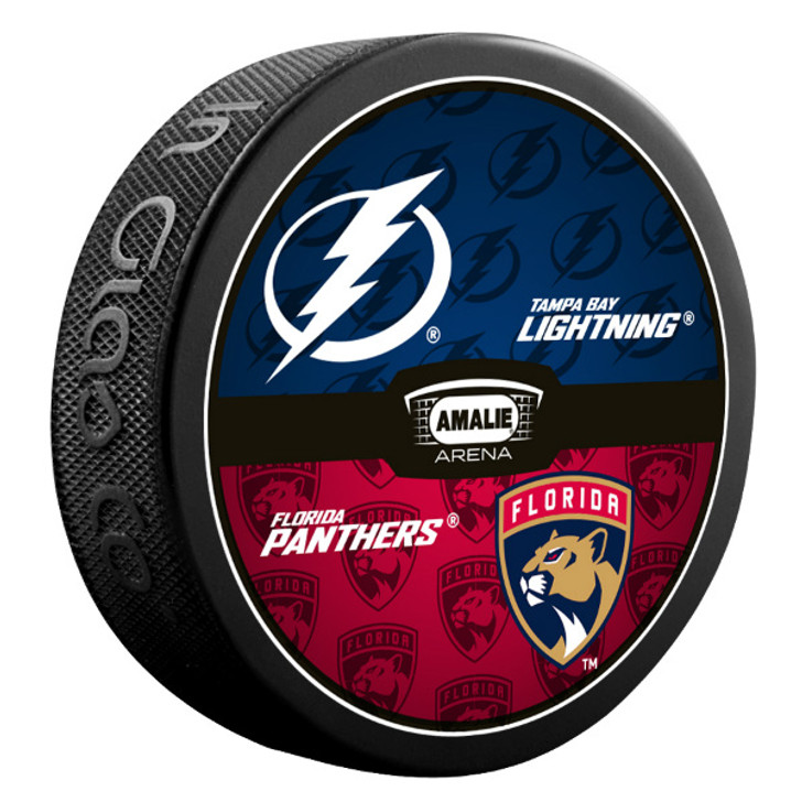 Tampa Bay Lightning vs. Florida Panthers Match-up Puck