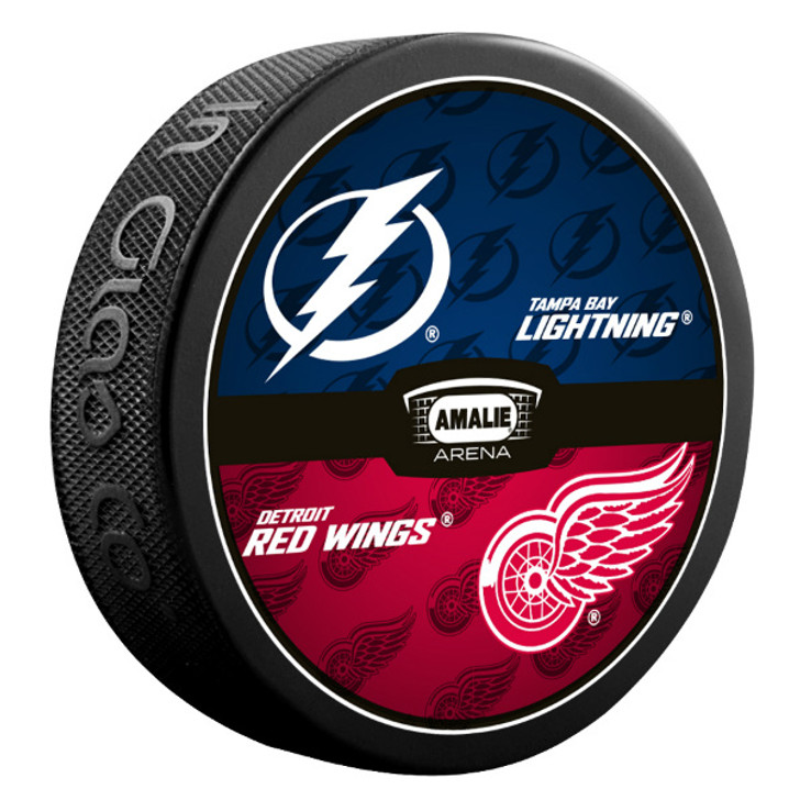 Tampa Bay Lightning vs. Detroit Red Wings Match-up Puck
