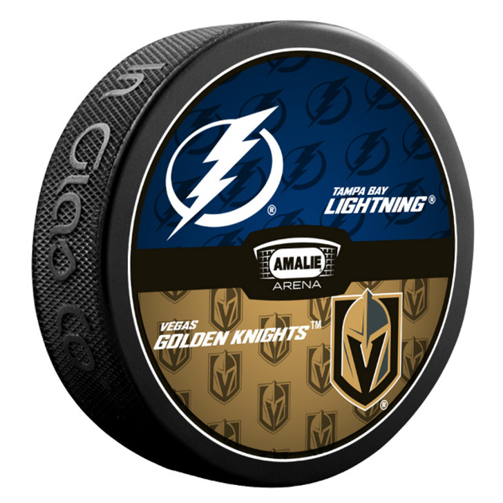 Tampa Bay Lightning vs. Vegas Golden Knights Match-up Puck