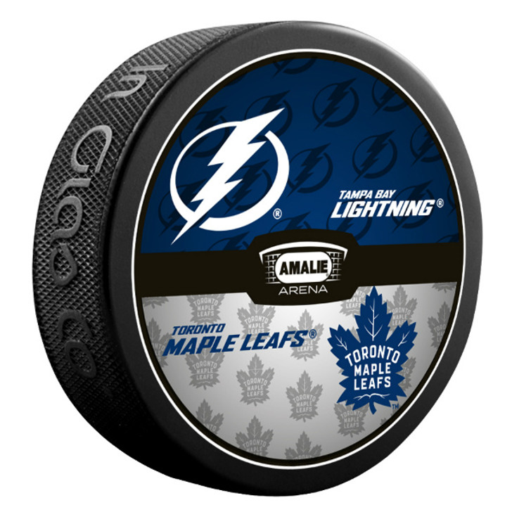 Tampa Bay Lightning vs. Toronto Maple Leafs Match-up Puck