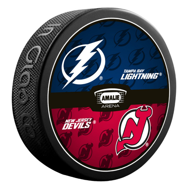 Tampa Bay Lightning vs. New Jersey Devils Match-up Puck