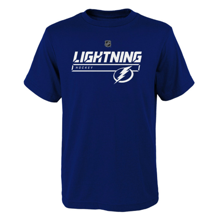 Child Tampa Bay Lightning On Ice Primary Tee