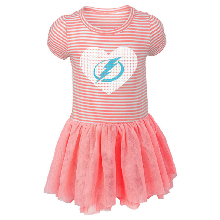 Infant Girl's Tampa Bay Lightning Ice Queen Tutu Sequins Dress