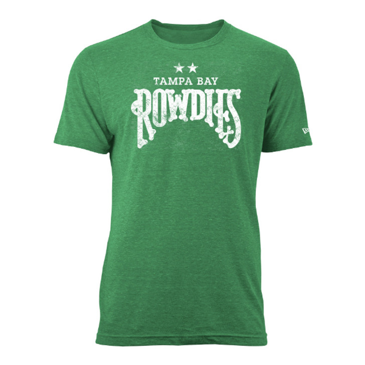 Men's Tampa Bay Rowdies Green Tri-Blend Tee