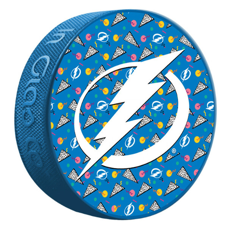 Tampa Bay Lightning Limited Edition 1990s Inspired Puck