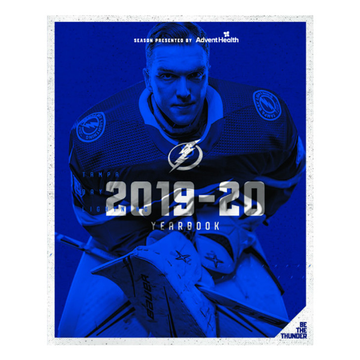 Tampa Bay Lightning 2019-20 Yearbook - FREE with purchase over $50
