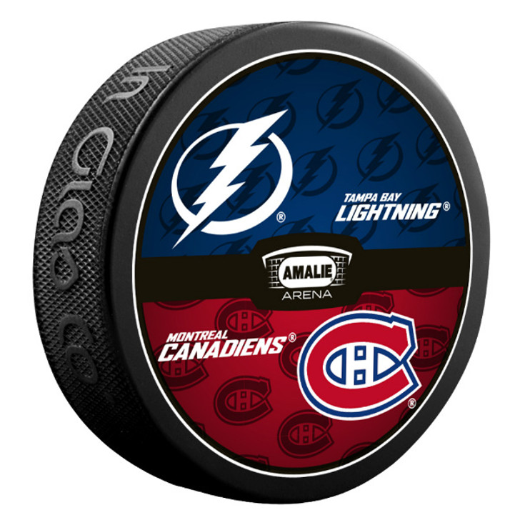 Tampa Bay Lightning vs. Montreal Canadiens Match-up Puck