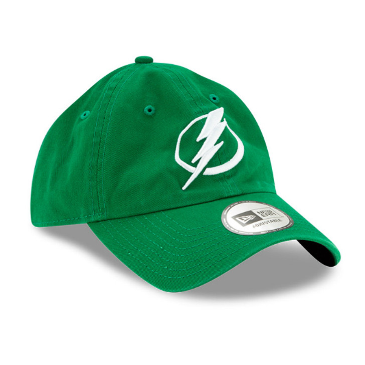 Tampa Bay Lightning New Era St. Patrick's Day Adjustable Casual Classic Hat