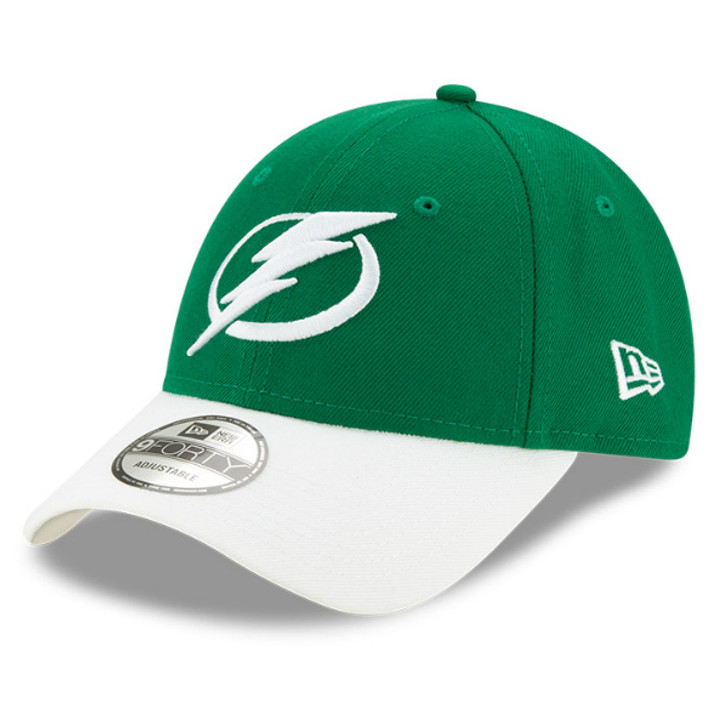 Tampa Bay Lightning New Era 9FORTY St. Patrick's Day Two-Tone Adjustable Hat