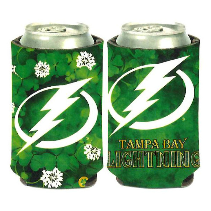 Tampa Bay Lightning St. Patrick's Day 12oz Can Cooler