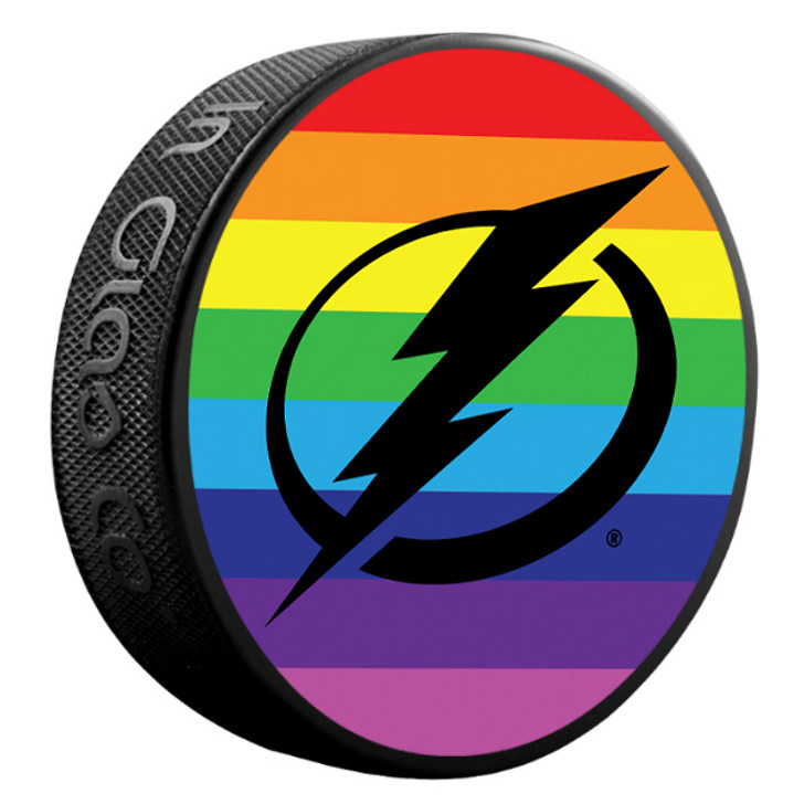 Tampa Bay Lightning Limited Edition Pride Puck