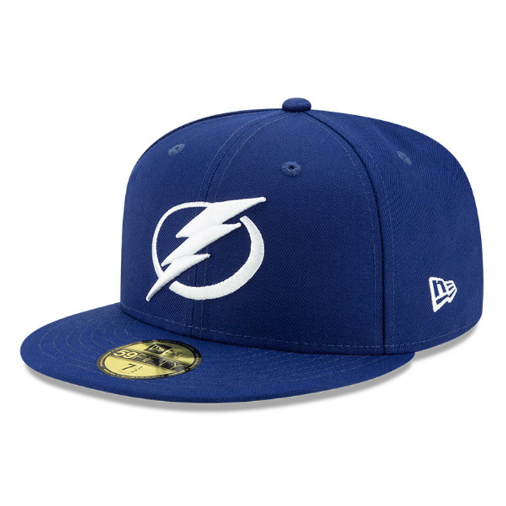 Men's Tampa Bay Lightning New Era 59FIFTY Royal Fitted Hat