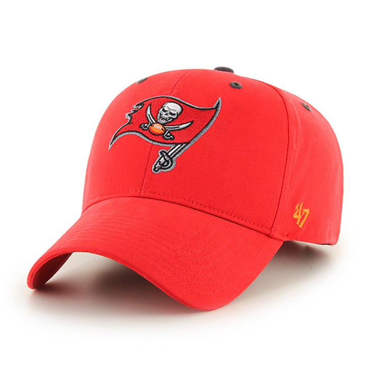 Men's Tampa Bay Buccaneers '47 Adjustable Red Fundamental MVP Hat
