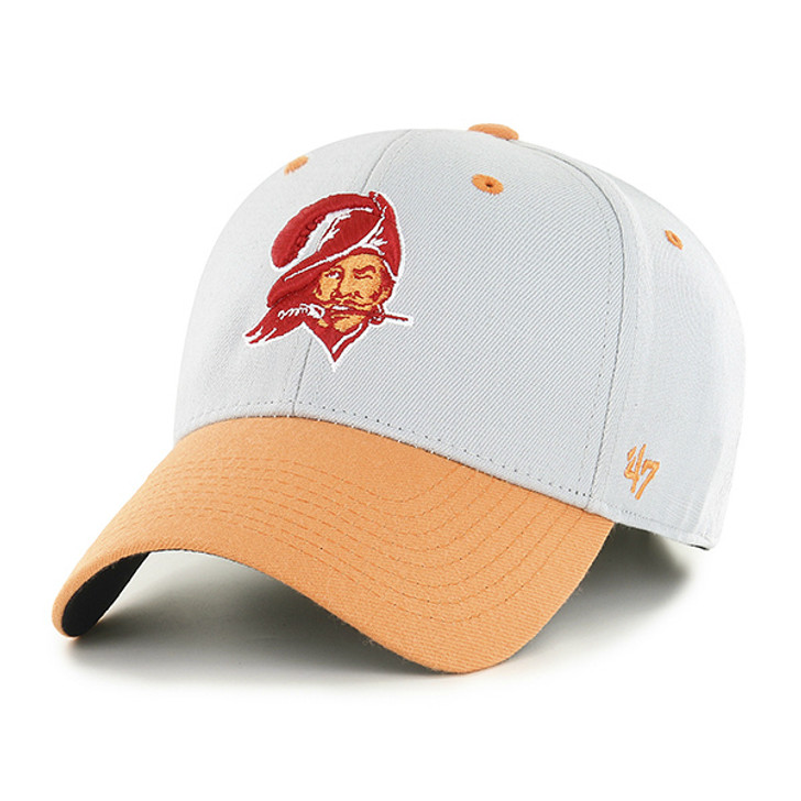 Men's Tampa Bay Buccaneers '47 Flex-Fit Retro Two-Tone Contender Hat (One Size Fits Most)