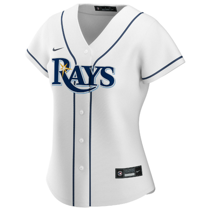 Women's Tampa Bay Rays Nike White Home Replica Jersey