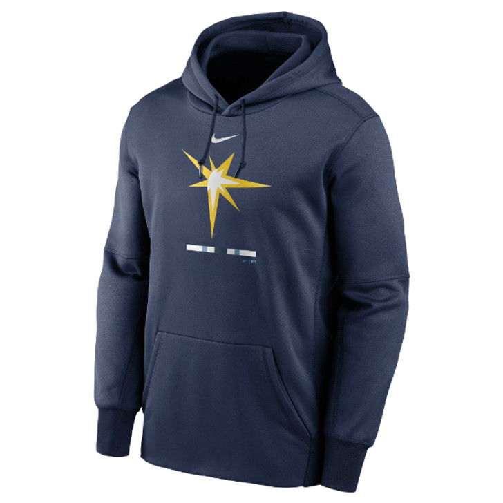Men's Tampa Bay Rays Nike Legacy Therma Performance Hoodie
