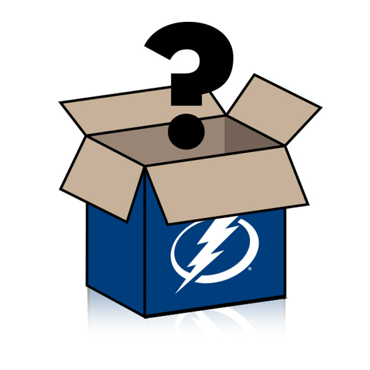 Tampa Bay Lightning Five (5) Pucks Mystery Box