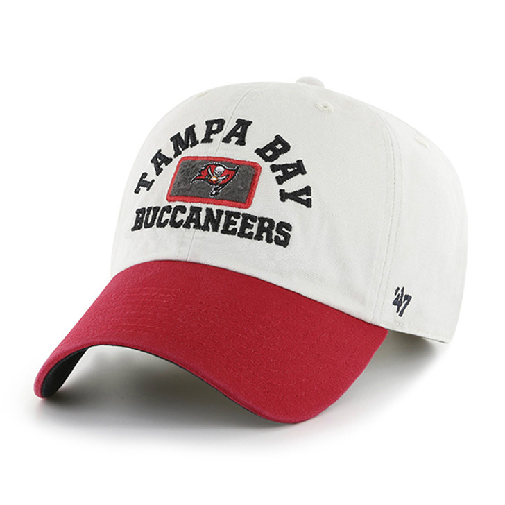 Tampa Bay Buccaneers '47 Stone Felt Patch Adjustable Clean Up Hat