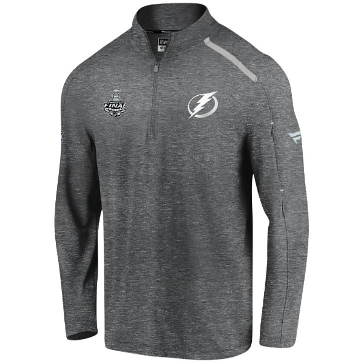 Men's Tampa Bay Lightning 2020 Stanley Cup Final Authentic Pro Locker Room 1/4 Zip